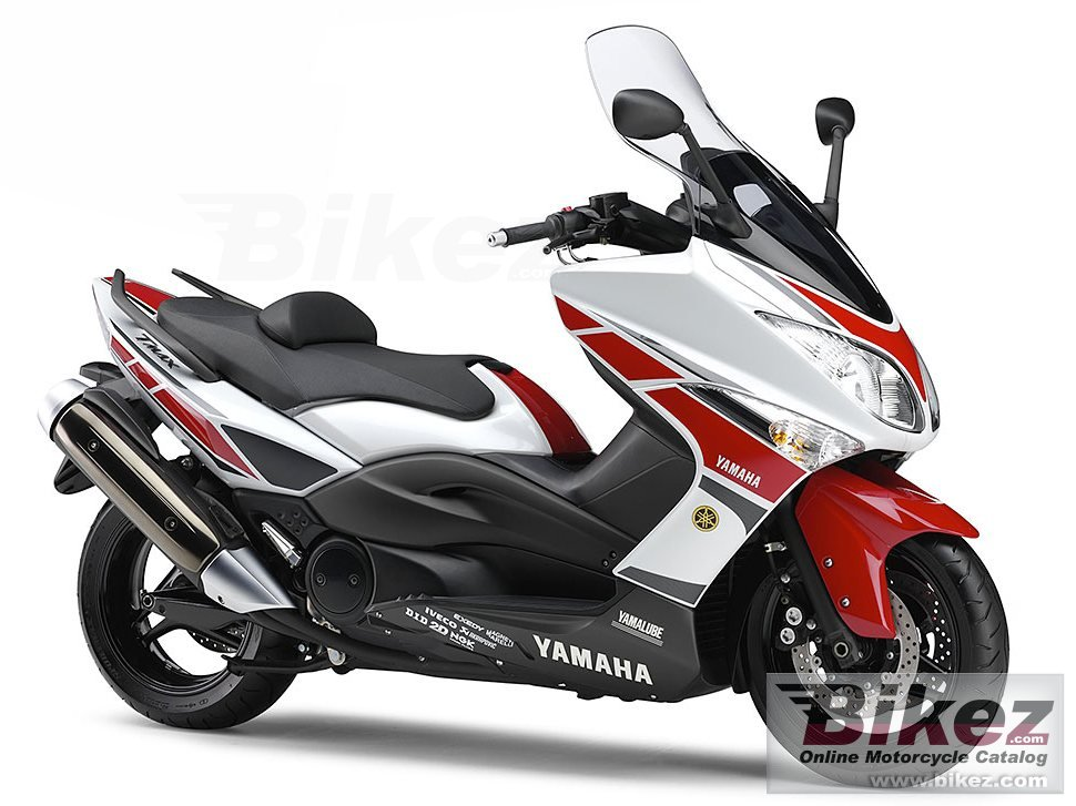 Big Yamaha tmax wgp 50th anniversary edition picture and wallpaper from Bikez.com