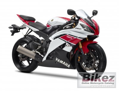 2012 yamaha yzf r6 wgp 50th anniversary specifications and pictures. Black Bedroom Furniture Sets. Home Design Ideas