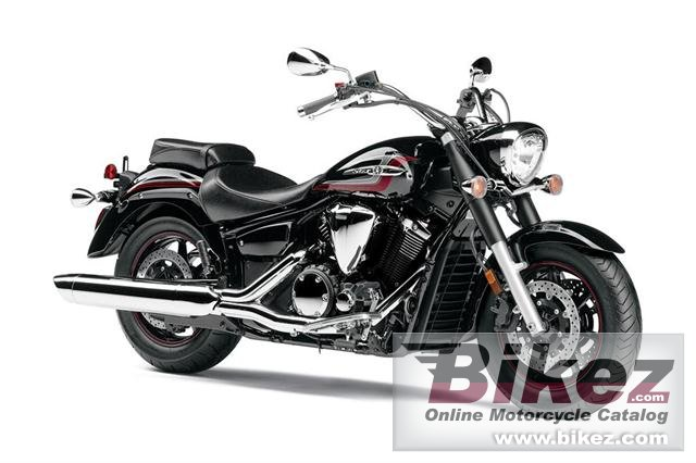 Big Yamaha v star 1300 picture and wallpaper from Bikez.com