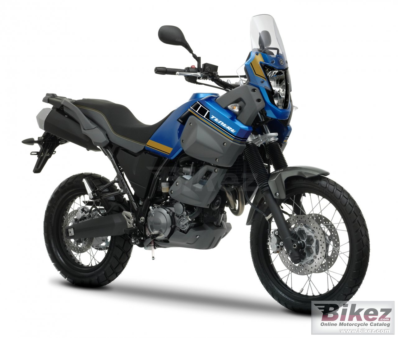 Big Yamaha xt660z tenere abs picture and wallpaper from Bikez.com