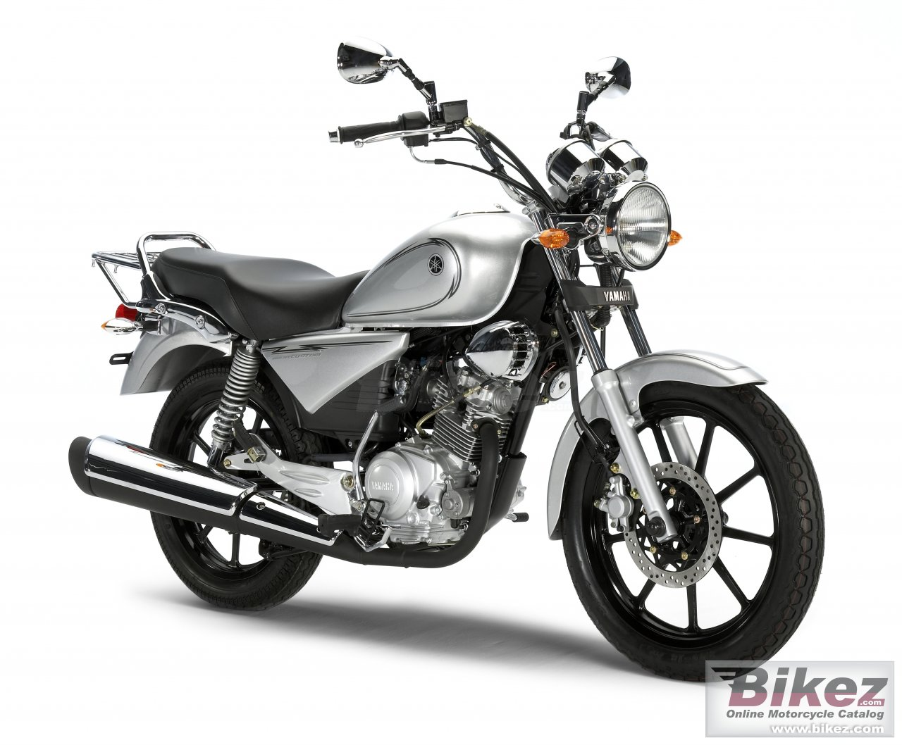 Big Yamaha ybr125 custom picture and wallpaper from Bikez.com