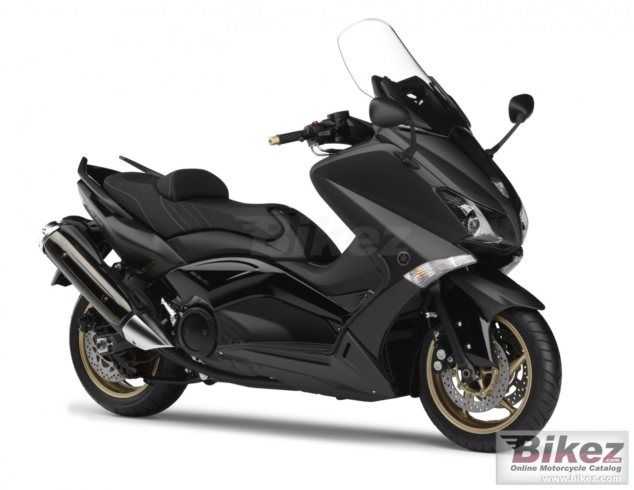 Big Yamaha tmax black max picture and wallpaper from Bikez.com
