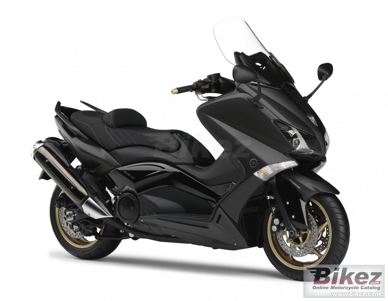 Big Yamaha tmax black max abs picture and wallpaper from Bikez.com