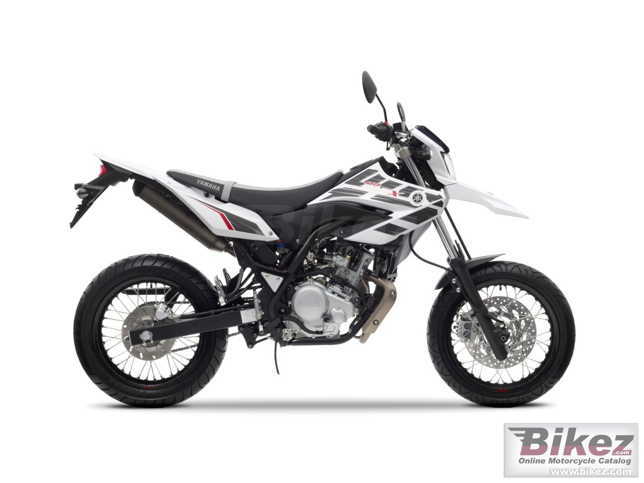 Big Yamaha wr125 x picture and wallpaper from Bikez.com