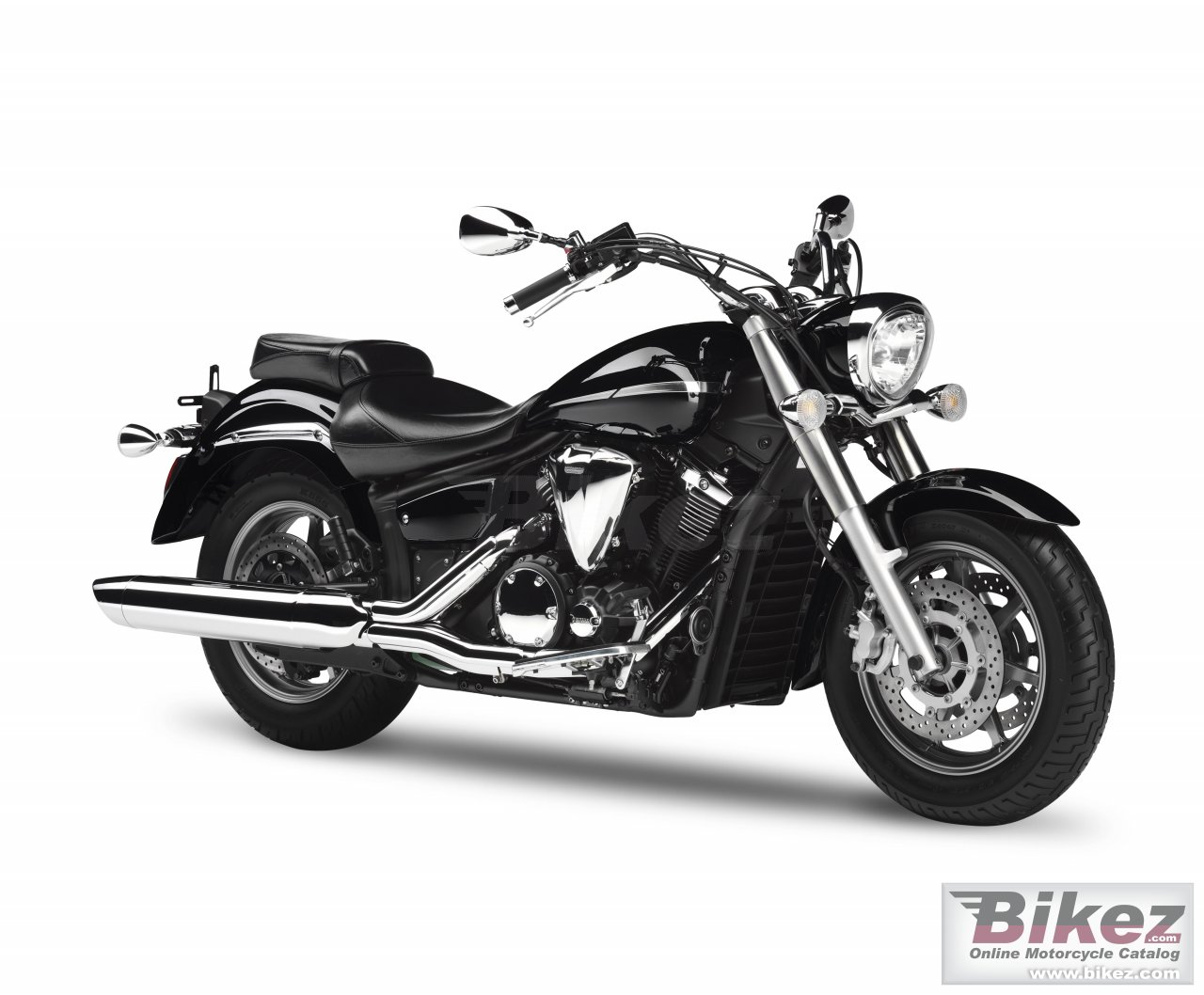 Big Yamaha xvs1300a midnight star picture and wallpaper from Bikez.com