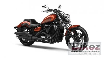 2014 Yamaha XVS1300 Custom photo