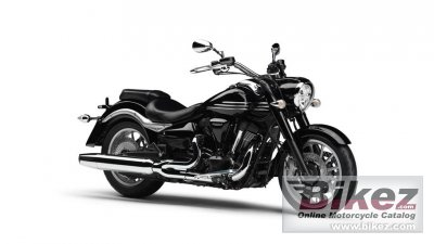 2014 Yamaha XV1900A Midnight Star