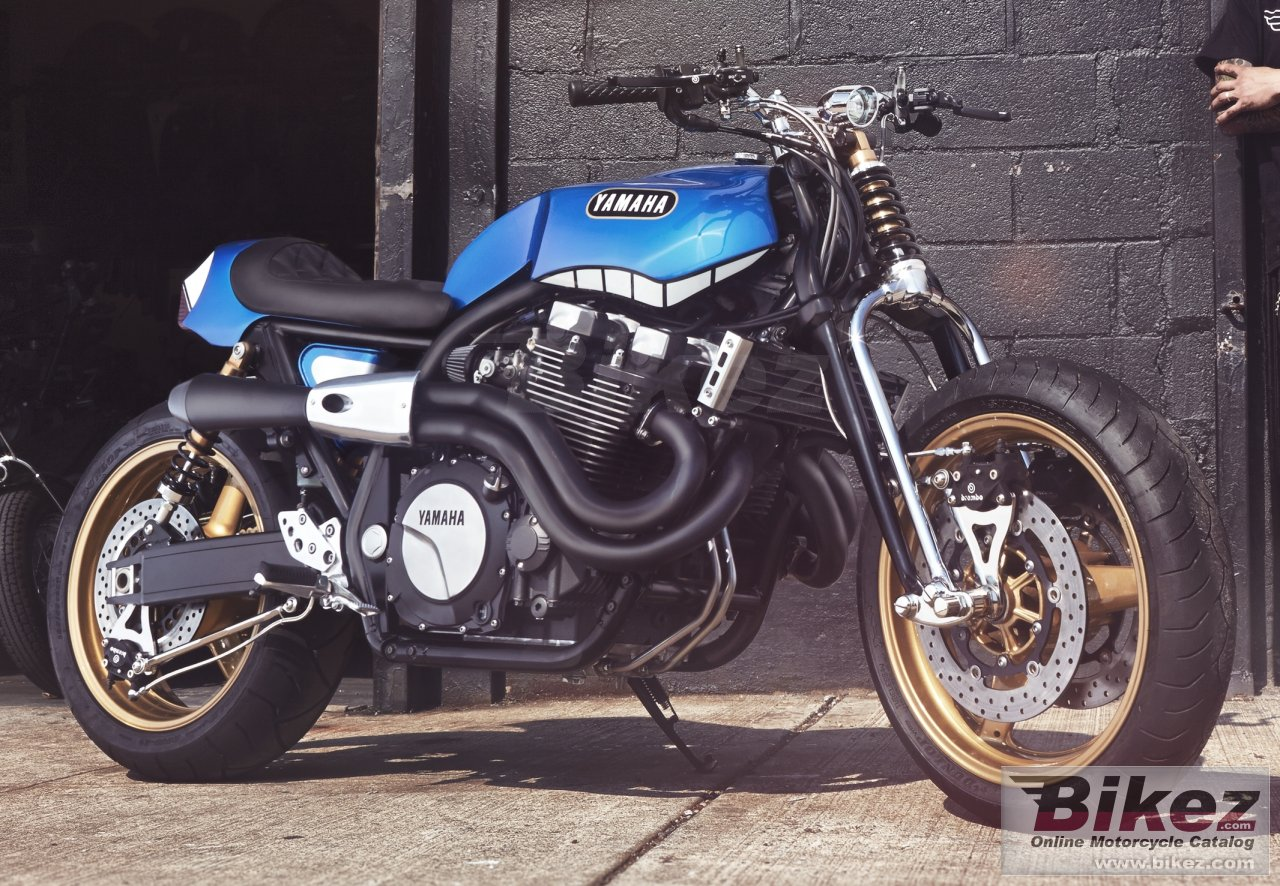 Yamaha XJR1300 Rhapsody In Blue