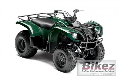 2015 Yamaha Grizzly 125 Automatic specifications and pictures