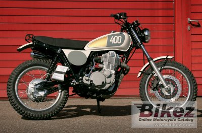 2015 Yamaha SR400 Homage by Benders specifications and pictures