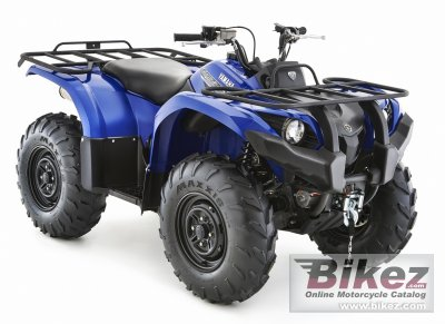 2017 Yamaha Grizzly 450 EPS
