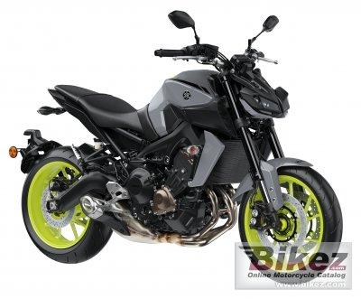2017 Yamaha MT-09