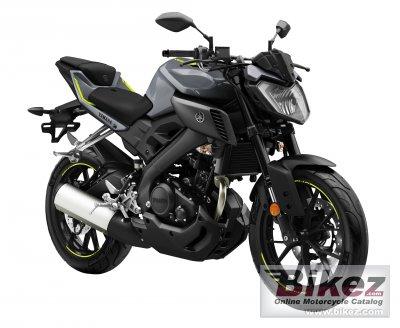 2017 Yamaha MT-125