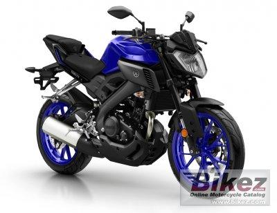2018 Yamaha MT-125