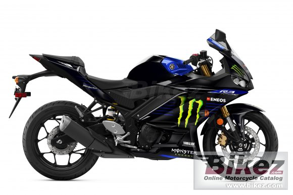 2021 Yamaha YZF-R3 Monster Energy