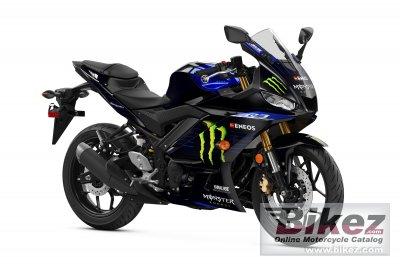 2021 Yamaha YZF-R3 Monster Energy
