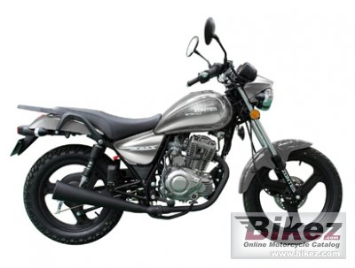 2013 Zontes Tiger 125