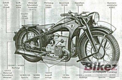 1933 Zündapp K 400 Kardan
