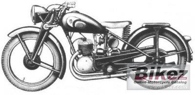 1952 Zündapp DB 202