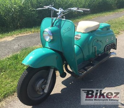 1953 Zündapp Bella R150