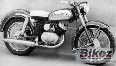 1953 Zündapp DB 205 Elastic 200