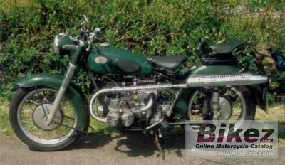 1953 Zündapp KS 601 Kardan Sport