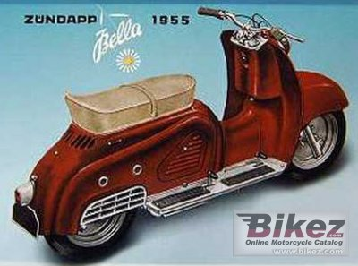 1955 Zündapp Bella 151