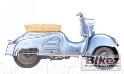 1955 Zündapp Bella 201