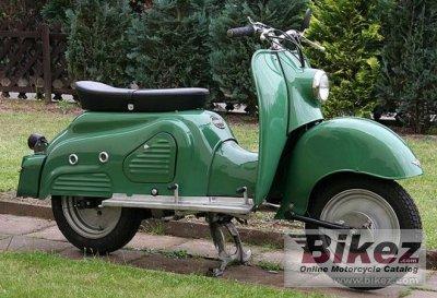 1957 Zündapp Bella R154