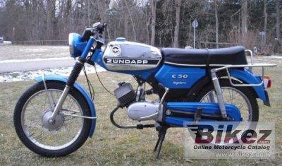 1967 Zündapp C 50 Sport