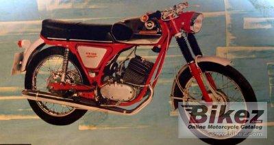 1972 Zündapp KS 125 Sport
