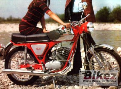 1974 Zundapp KS 125 Sport photo